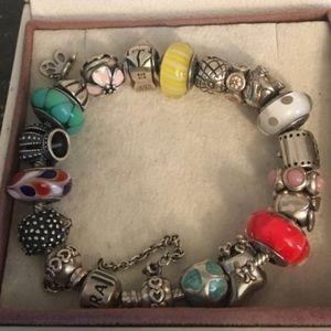 Pandora Bracelet with charm authentic